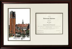 Florida Scholar Diploma Frame Horizontal