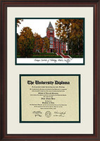 Georgia Institute of Technology Scholar Diploma Frame