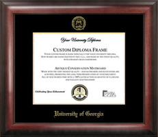University of Georgia Gold Embossed Diploma Frame