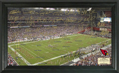 Arizona Cardinals Signature Framed Picture