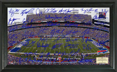 Buffalo Bills Signature Framed Picture