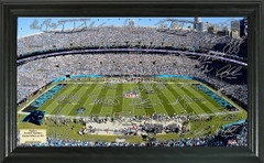 Carolina Panthers Signature Framed Picture