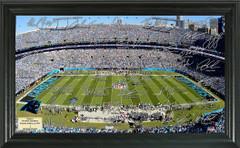 Carolina Panthers Signature Framed Picture