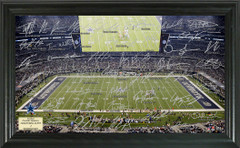 Dallas Cowboys Signature Framed Picture