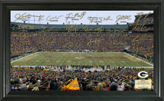 Green Bay Packers Signature Framed Picture