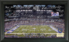 Indianapolis Colts Team Signature Framed Picture