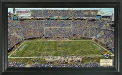 Jacksonville Jaguars Signature Framed Picture