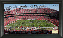 Kansas City Chiefs Signature Framed Picture