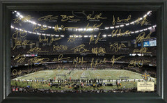 New Orleans Saints Team Signature Framed Picture