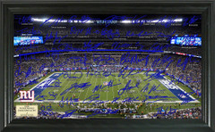 New York Giants Signature Framed Picture