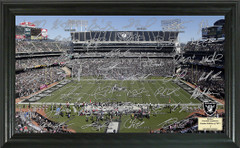 Oakland Raiders Signature Framed Picture