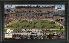 Pittsburgh Steelers Signature Framed Picture