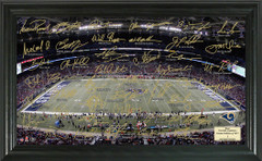 St. Louis Rams Team Signature Framed Picture