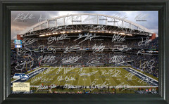 Seattle Seahawks Signature Framed Picture