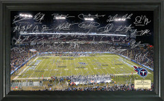 Tennessee Titans Signature Framed Picture