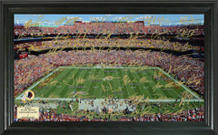 Washington Redskins Signature Framed Picture