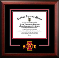 Iowa State University Spirit Diploma Framing