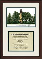 Iowa State University Scholar Diploma Frame