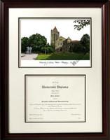 University of Illinois Scholar Diploma Frame