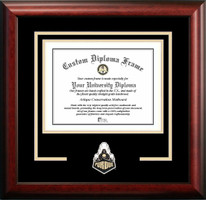 Purdue University Spirit Diploma Framing