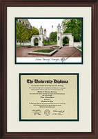 Indiana University Scholar Diploma Frame