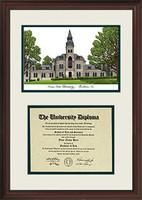 Kansas State University Scholar Diploma Frame