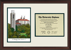 University of Kansas Scholar Diploma Frame