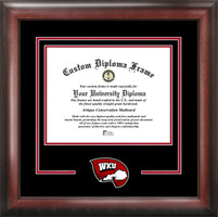 Western Kentucky University Spirit Diploma School Logo Frame