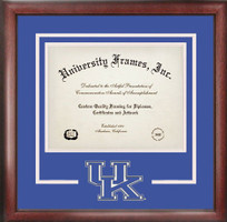 University of Kentucky Spirit Diploma School Logo Frame