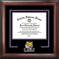 Louisiana State University Spirit Diploma Framing
