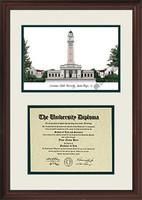 Louisiana State University Scholar Diploma Frame