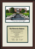 University of Maryland Scholar Diploma Frame