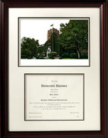 University of Michigan Scholar Diploma Frame