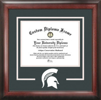 Michigan State University Spirit Diploma Framing
