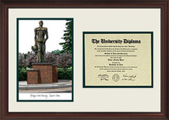 Michigan State University Scholar Diploma Frame