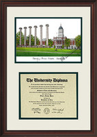 University of Missouri Scholar Diploma Frame