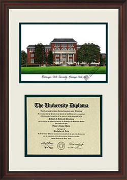 Mississippi State University Scholar Diploma Frame