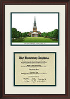 Wake Forest University Scholar Diploma Frame