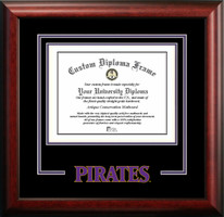 East Carolina University Spirit Diploma Frame