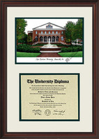 East Carolina University Scholar Diploma Frame