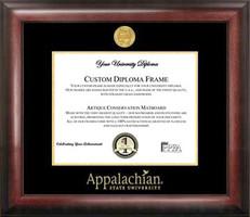 Appalachian State University Gold Embossed Diploma Frame