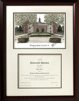 University of Nebraska Scholar Diploma Frame