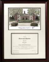 University of Nebraska Scholar Diploma Frame
