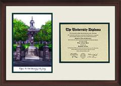 Rutgers University Scholar Diploma Frame