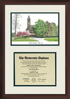 Cornell University Scholar Diploma Frame