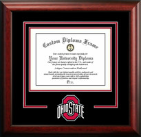 Ohio State University Spirit Diploma Frame with Logo
