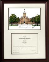 Ohio State University Scholar Diploma Frame