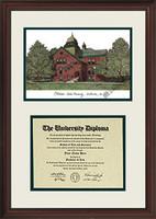Oklahoma State University Scholar Diploma Frame