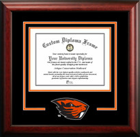 Oregon State University Spirit Diploma Framing