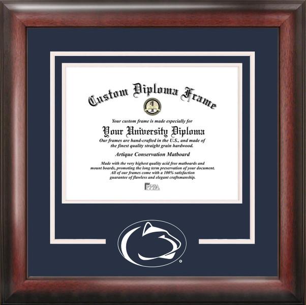 Penn State University Spirit Diploma Framing